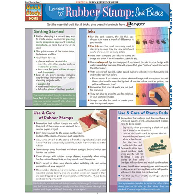 BarCharts- Inc.  9781423202653 Learning To Rubber Stamp