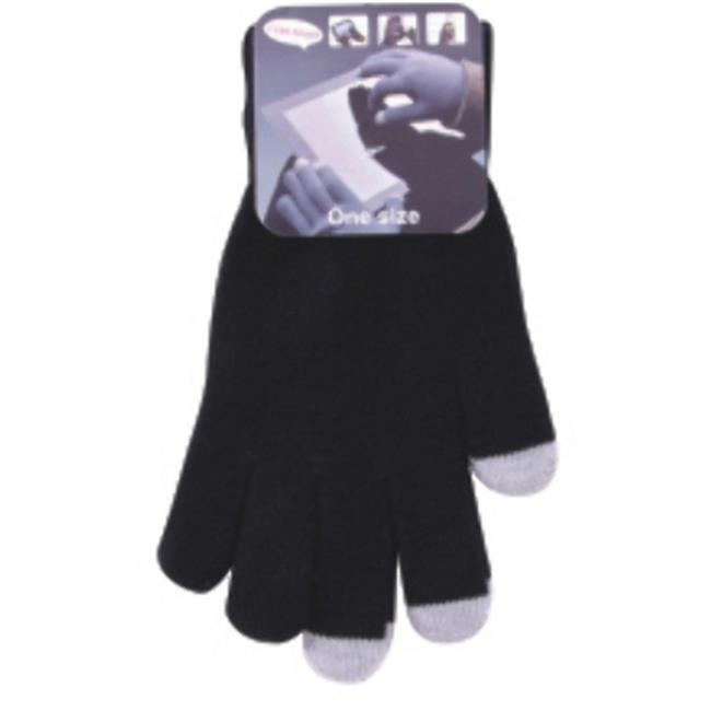 DDI 1893211 Adult Magic Stretch Texting Gloves - Black