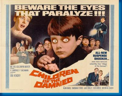 Children Of The Damned Movie 11x17 Mini Poster by