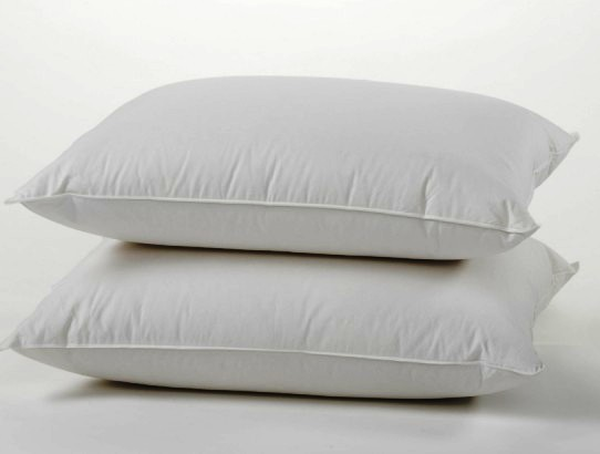 100% Cotton Cover Highest Quality, Feather U0026 Down Pillow, Best Use For  Decorative Pillows U0026 For Firm Sleepers, Dust Mite Resistant (not Polyester  Filled) ...
