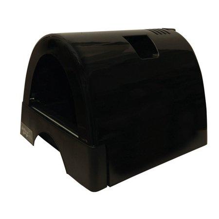 kittyagogo designer cat litter box with black shiny cover. Black Bedroom Furniture Sets. Home Design Ideas