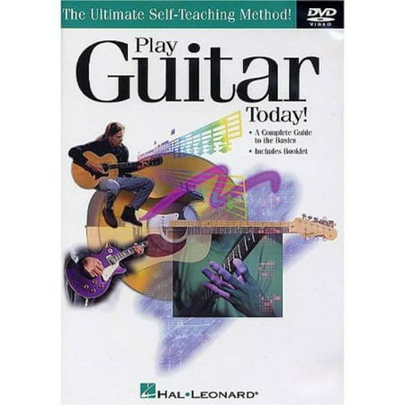 Play Guitar Today (DVD) Classical Guitar Technique Dvd