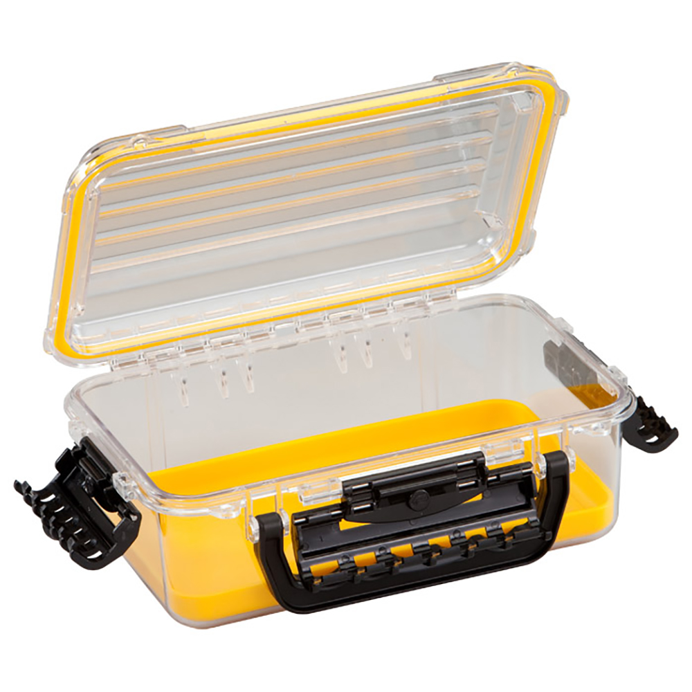 Plano Guide Series PolyCarbonate Box, Medium, Yellow
