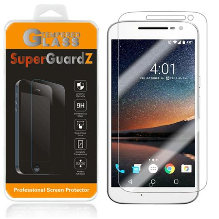 For Motorola Moto G4 / Motorola Moto G (4th Gen) - SuperGuardZ Tempered Glass Screen Protector [Anti-Scratch, Anti-Bubble] + 2 Stylus Pen](Halloween Fun Sheets For 4th Grade)