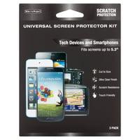 Universal Screen Protector, 3-Pk