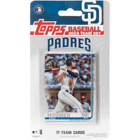 San Diego Padres 2019 Team Card Set - No Size