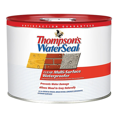 Thompson's Waterseal Clear Multi-Surface Waterproofer, 2.5 Gallon