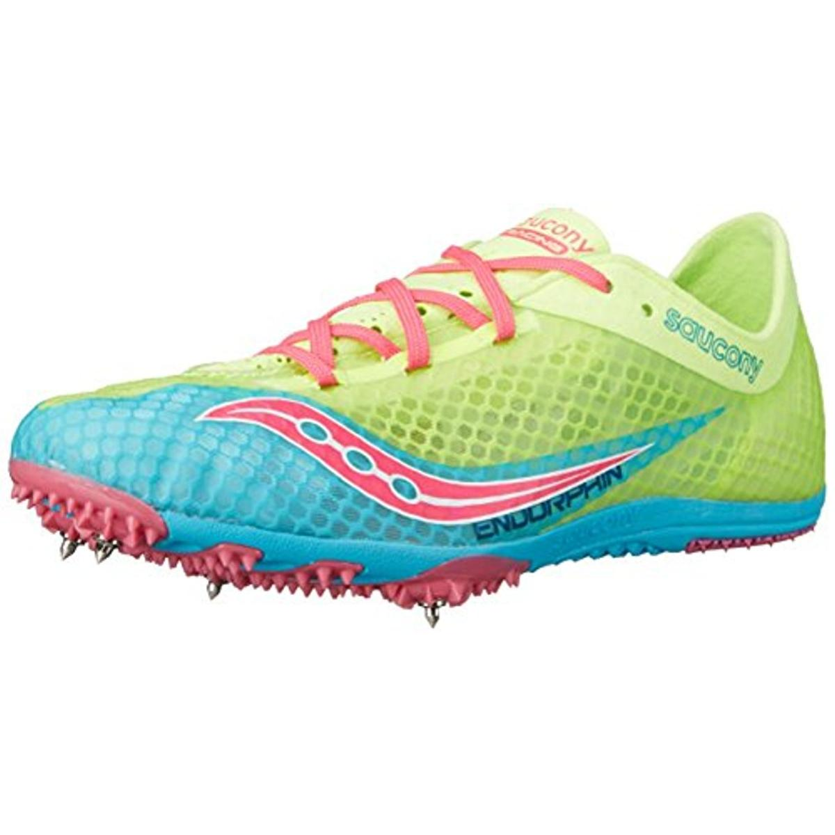 Saucony Womens Endorphin Mesh Track Field Running Shoes by Saucony