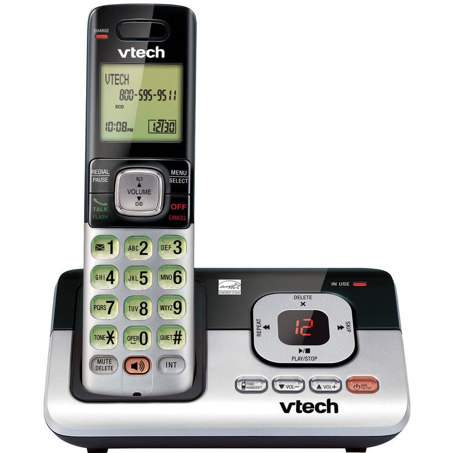 VTech CS6829 DECT 6.0 Handset Cordless Answering System