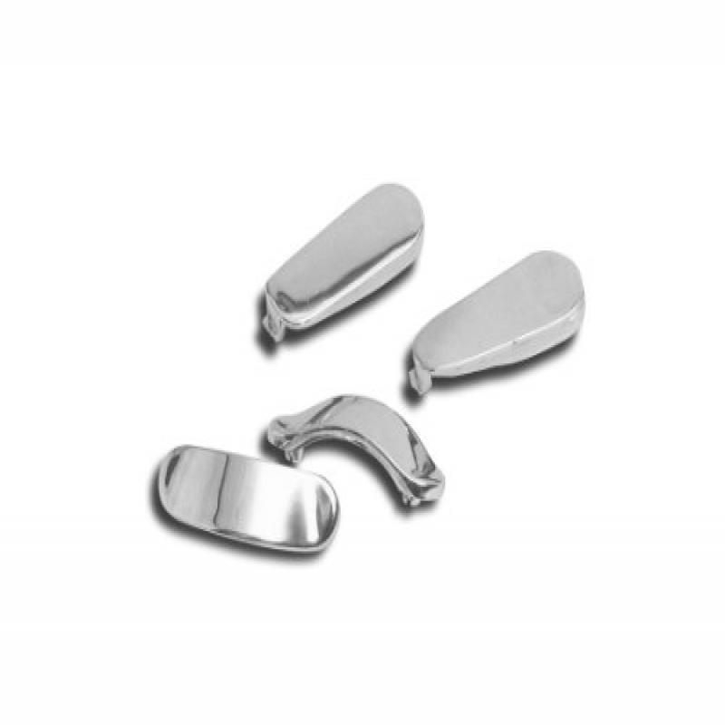 Show Chrome Lower Fairing Chrome Plugs  2-458*