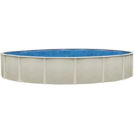 Wil-Bar International PREP2752SSPSSN1 Reprieve 27 ft. x 52 in. Round Steel Above Ground Pool