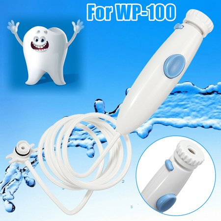 Water Flosser Oral Irrigator Dental Water Jet Replacement Tube Hose Handle Replacement for WP-100 Dental Water Jet Replacement