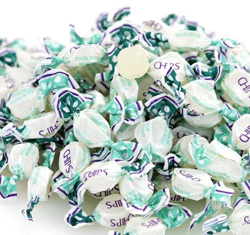 Chipurnoi Chips Menthol Eucalyptus Candy 1400CT Bag