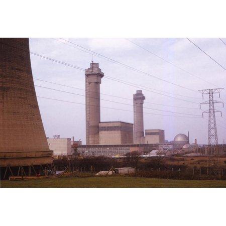 Calder Hall Nuclear Power Station, Cumberland, UK, 20th century Print Wall Art By CM Dixon ()
