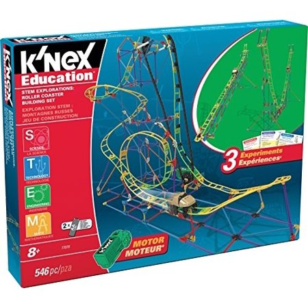 K'NEX Education ? STEM Explorations: Roller Coaster Building Set - 546 Pieces - Ages 8 Construction Education - Knex Roller Coasters