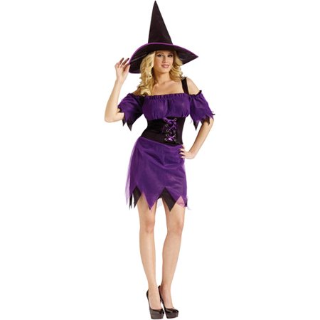 Dark Witch Adult Halloween Costume](Halloween Witch Clipart)