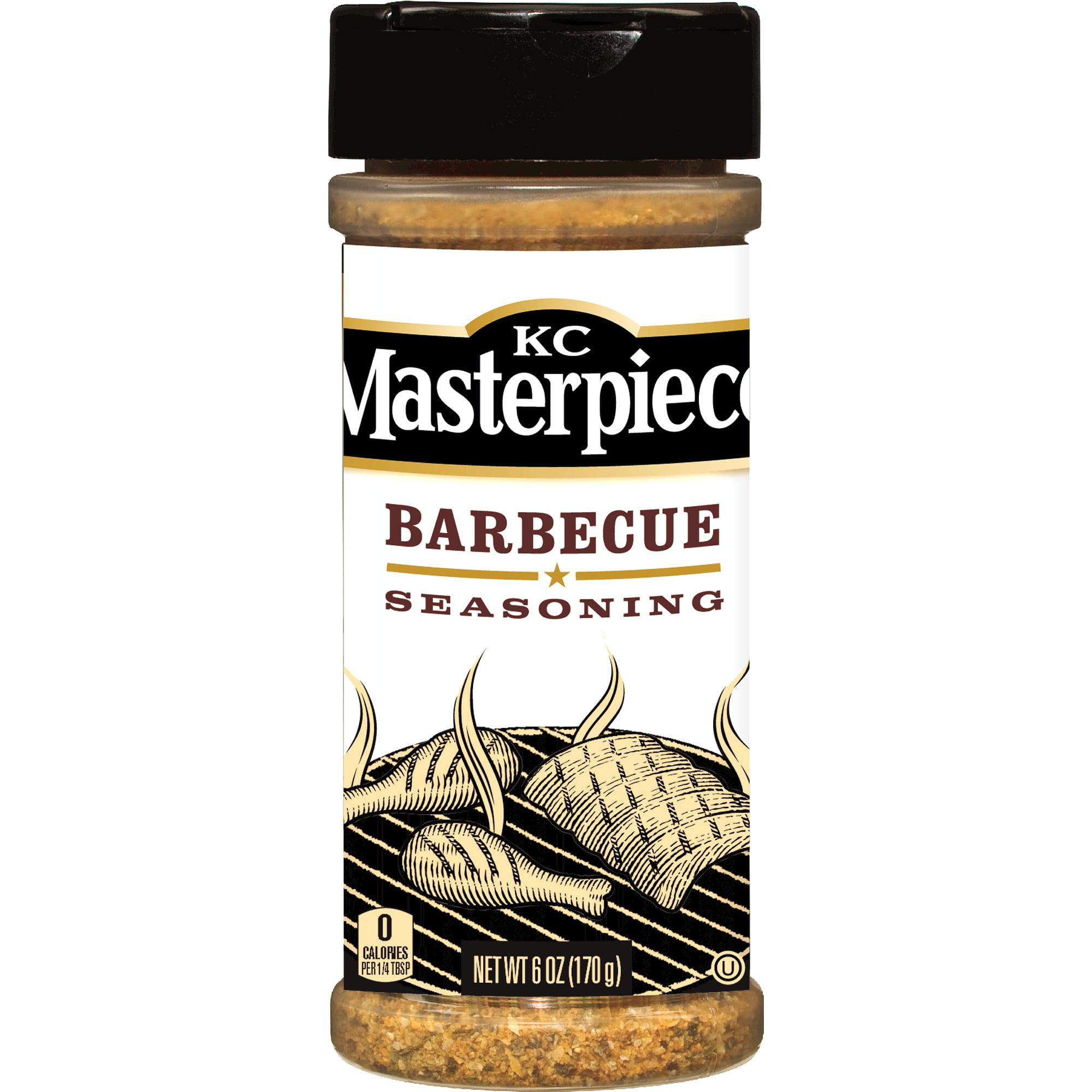KC Masterpiece Barbecue Seasoning, 6 Ounces