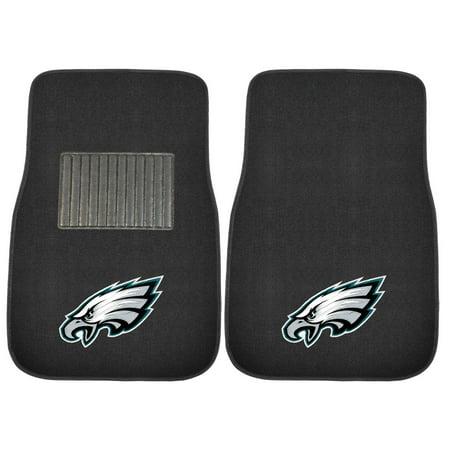 Fan Mats NFL Football Embroidered Car Mat - Set of 2