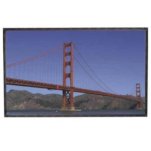 "Cineperm Rear Projection Fixed Frame Projection Screen Viewing Area: 120"" H x 120"" W"