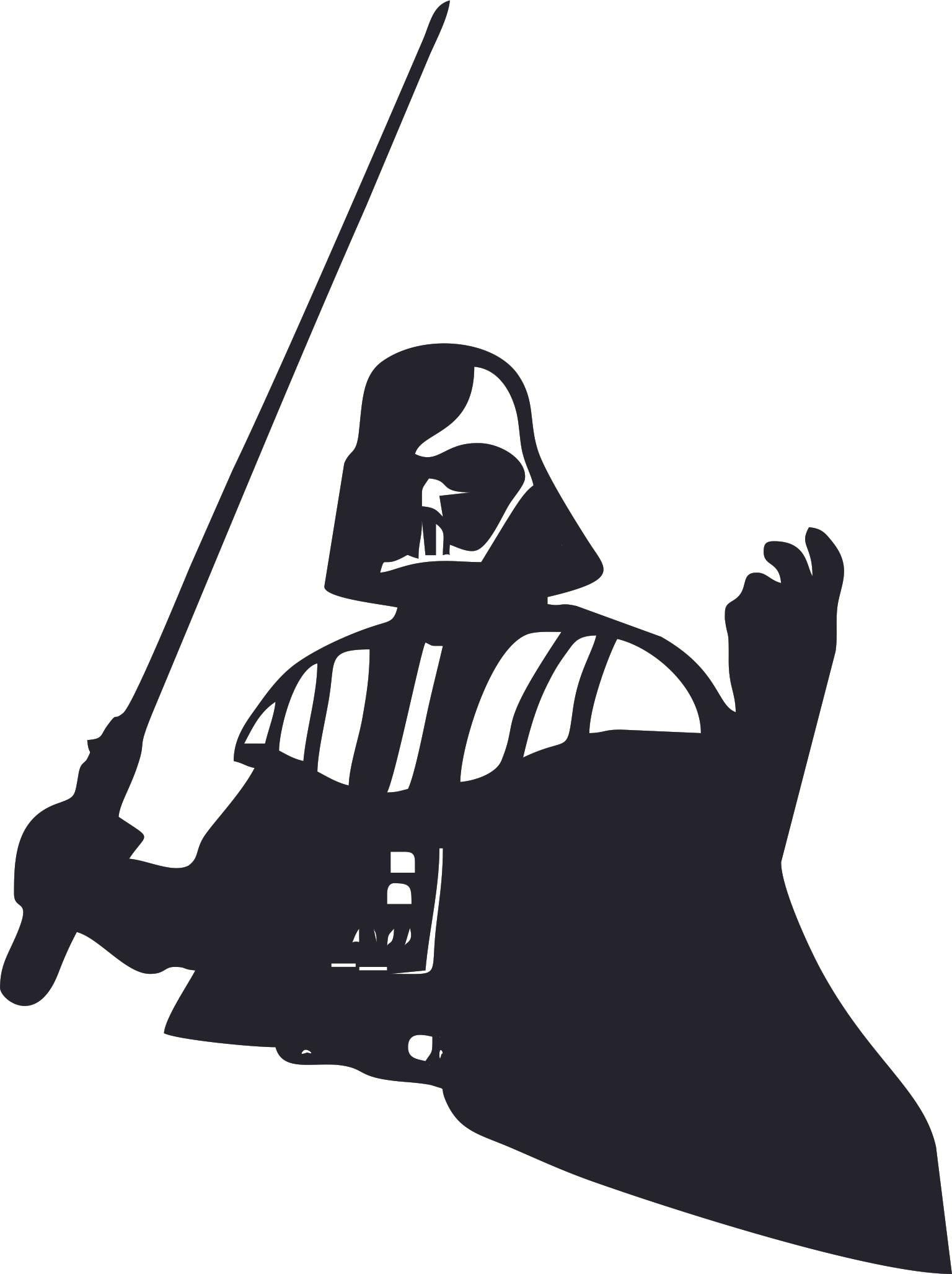 Bedroom 10x10 Size: Darth Vader Star Wars Cartoon Character Wall Art Vinyl