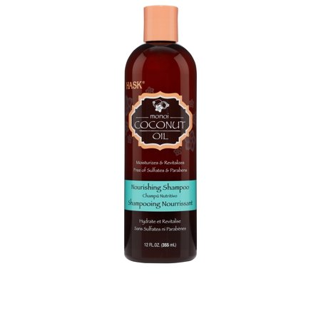 HASK Monoi Coconut Oil Nourishing Shampoo, 12 Oz