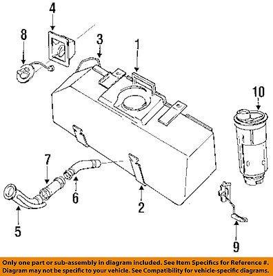 dodge chrysler oem 87 96 dakota fuel system pocket 4279778 walmart com 2001 Dodge Dakota Fuel System Diagram