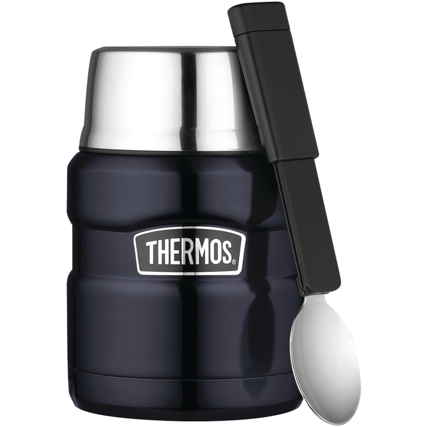 Thermos SK3000MB4 16-ounce Stainless Steel Vacuum Insulated King Food Jar With Spoon