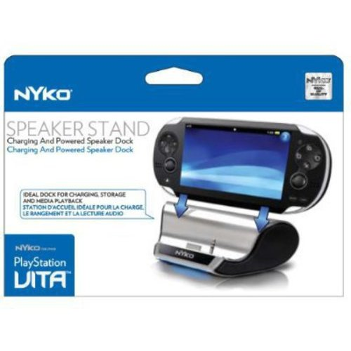 NYKO 85101 PlayStation(R)Vita Speaker Stand & Charging Station