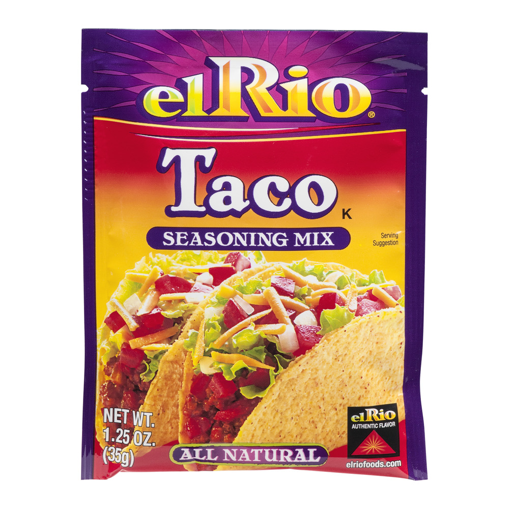 El Rio All Natural Seasoning Mix Taco, 1.25 OZ