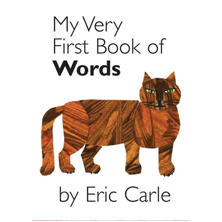 My Very First Book of Words (Board Book) (Comforting Words For A Very Sick Friend)