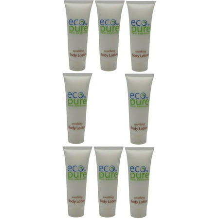 Eco Pure Soothing Body Lotion Lot of 8 each 1oz Bottles. Total of 8oz