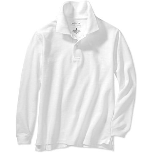 George Boys' Long Sleeve Polo Shirt