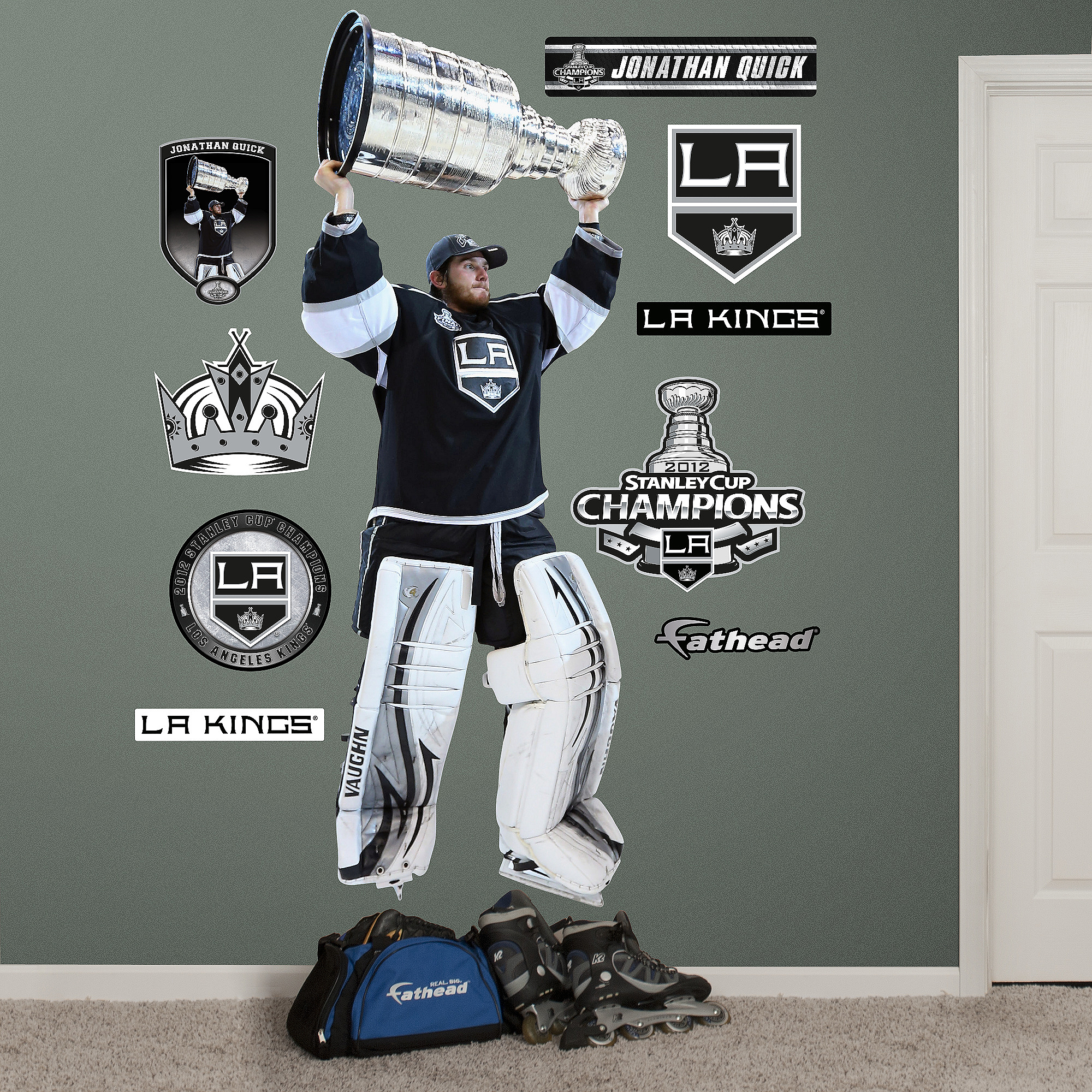 Jonathan Quick Stanley Cup