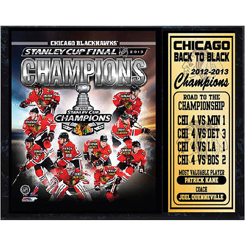 NHL Chicago Blackhawks Stat Plaque, 12x15