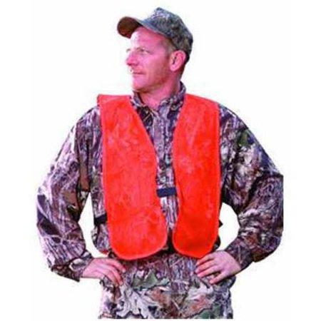 Breaux Blaze Orange Mesh Safety Hunting Vest