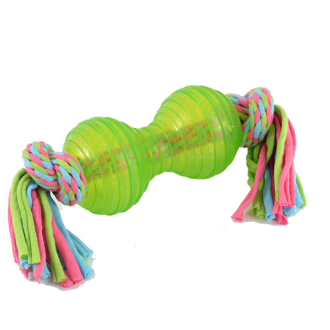 Home Pet Puppy Dog Cat Teeth Cleanning Chew Ball Knotted Braided Rope
