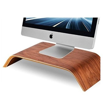 Samdi Wooden Monitor Stand, Riser Stand, Shelf Stand for all iMac and other Computers LCD Monitors. See eye-to-eye with your