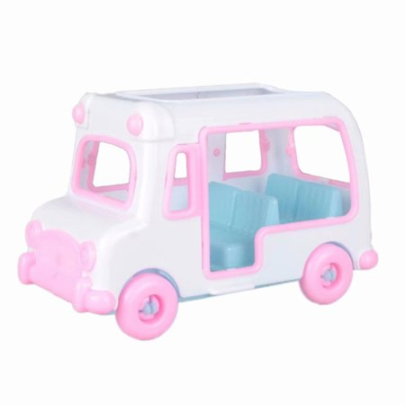 Plastic Cars For Toddlers (Baby Toy Car, Doll Accessories Car Plastic Model House Game Toy Doll)