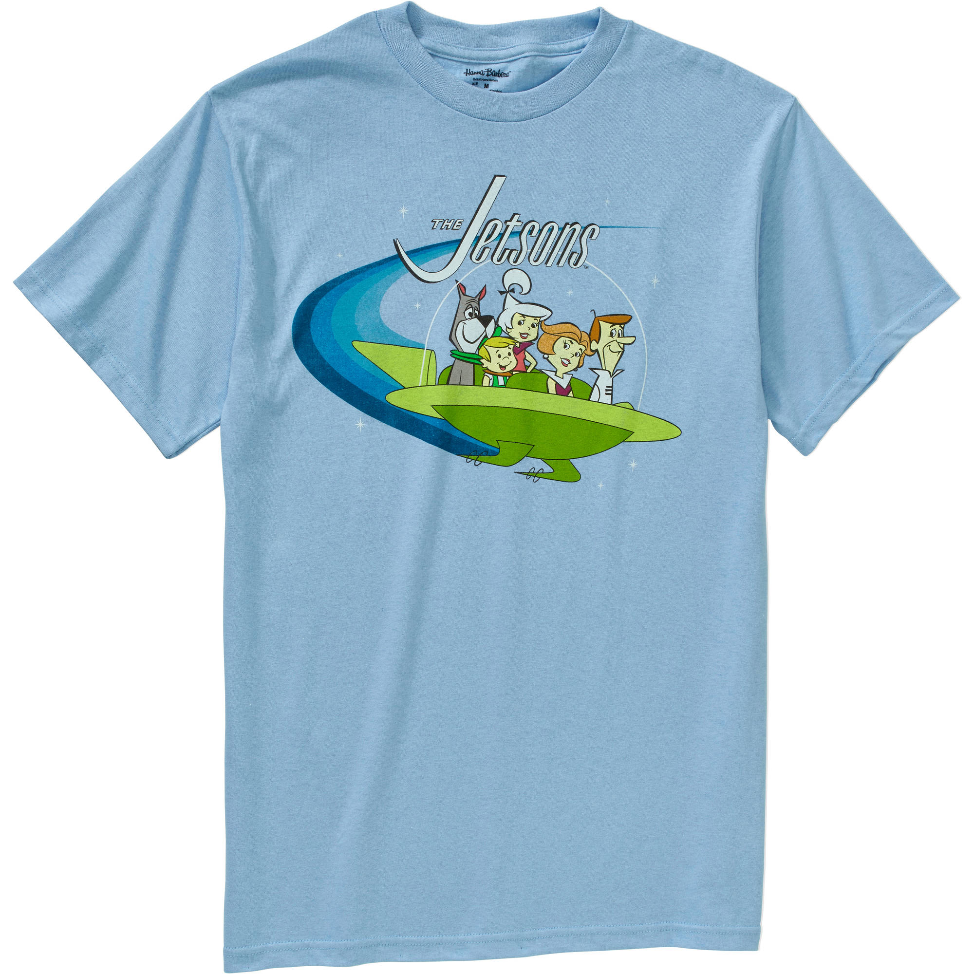 Jetsons Big Men's Big Vintage Short Sleeve T-Shirt, 2XL