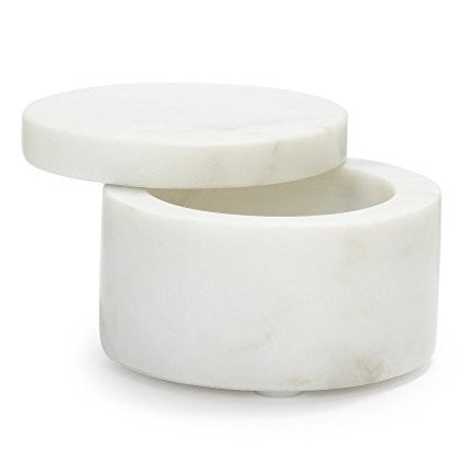 Marble Salt Keeper, Marble Salt Keeper By Sur La -