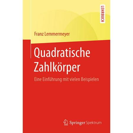 Quadratische Zahlkörper - eBook (Quadratische Gesichtsformen)