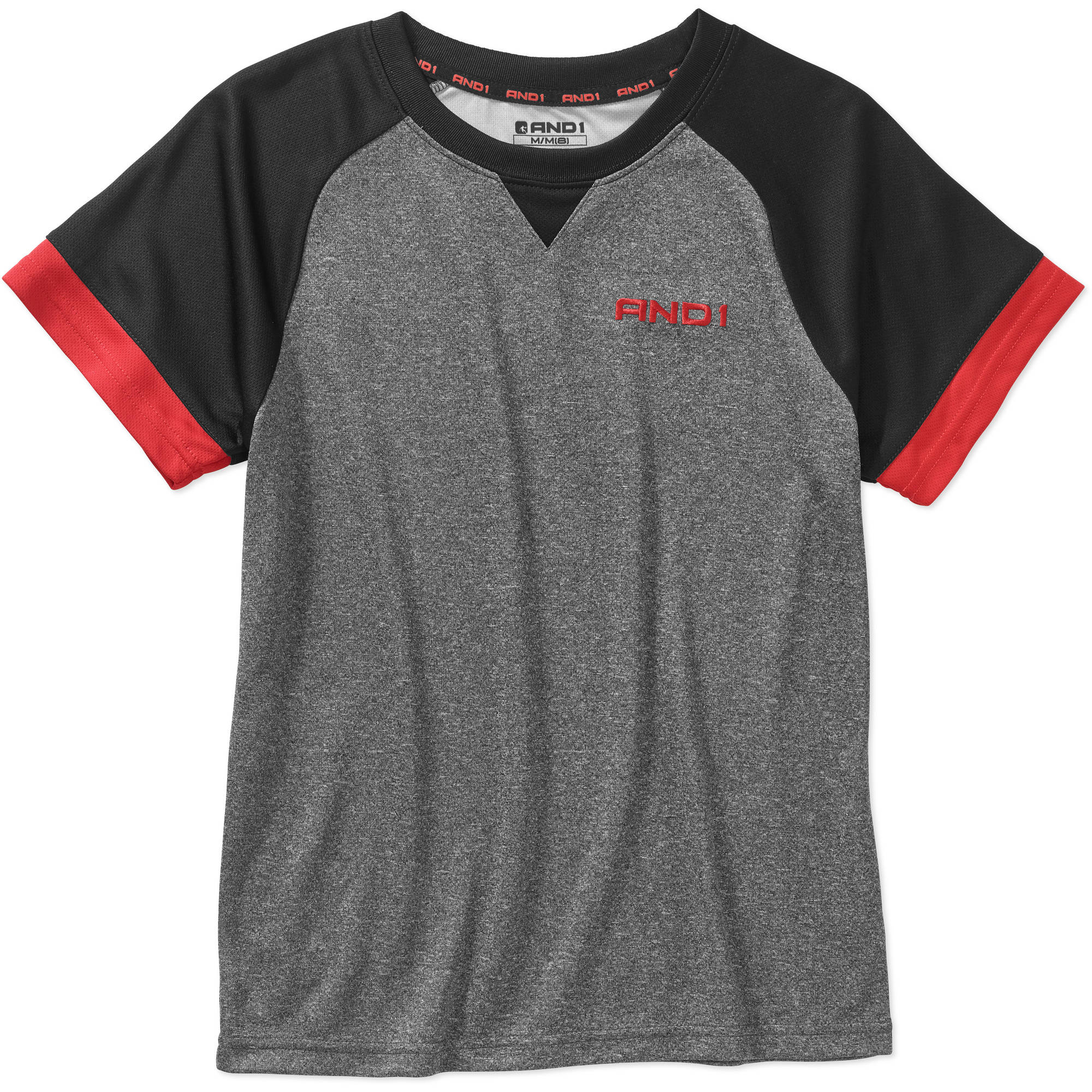 "AND1 Boys' ""Innovator"" Performance Tee Shirt"