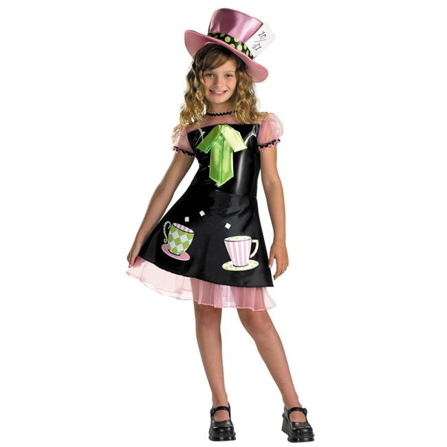 morris costumes dg3063g mad hatter child costume size 10 12