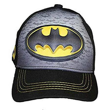 Baseball Cap - DC Comics - Batman Logo 3D Pop-up Kids Hat (Dc Comics Hat)