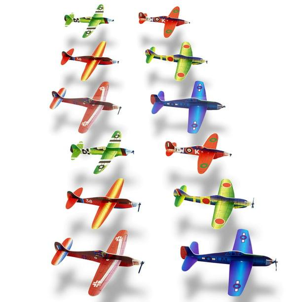PLANES 10 TO 12 SET OF 3 POLYSTYRENE WORLD WAR 2 FLYING GLIDER PLANES