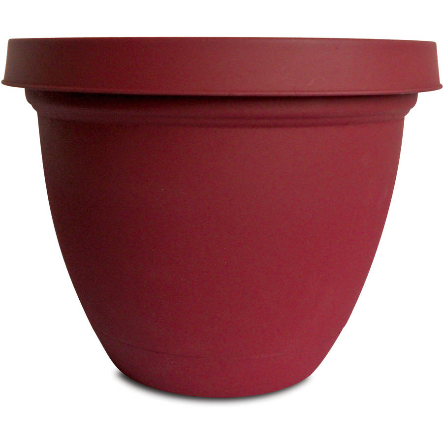 "Planters Pride IFA14000F85 14"" Red Infinity Self Watering Planter by Planters Pride"