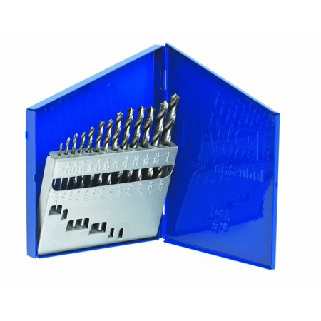 Irwin Industrial Tools 60136 General Purpose Metal Index Drill Bit Set, 13-Piece, Bit is constructed of M-2 high speed steel for the best combination of strength,.., By (Best Steroid For Speed And Strength)