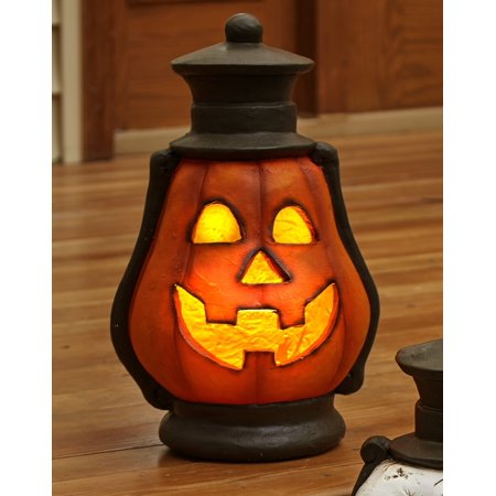 Halloween Candy Bowl Out On Porch (Halloween Oversized Porch Lantern -)