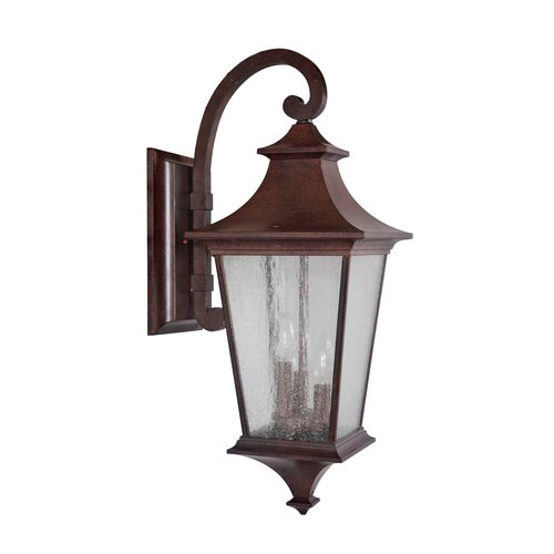 Fleur De Lis Living Chafin 3-Light Outdoor Wall Lantern