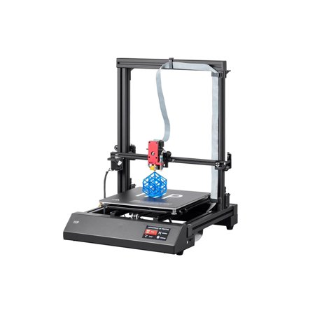 3d Maker (Monoprice Maker Pro Mk.1 3D Printer With Extra Large Heated (300 x 300 x 400 mm) Build Plate, Auto Level Bed And Touch screen Display + Free MicroSD Card Preloaded)